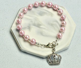 Beebeecraft Tutorials on Making a Pink Pearl Bracelet