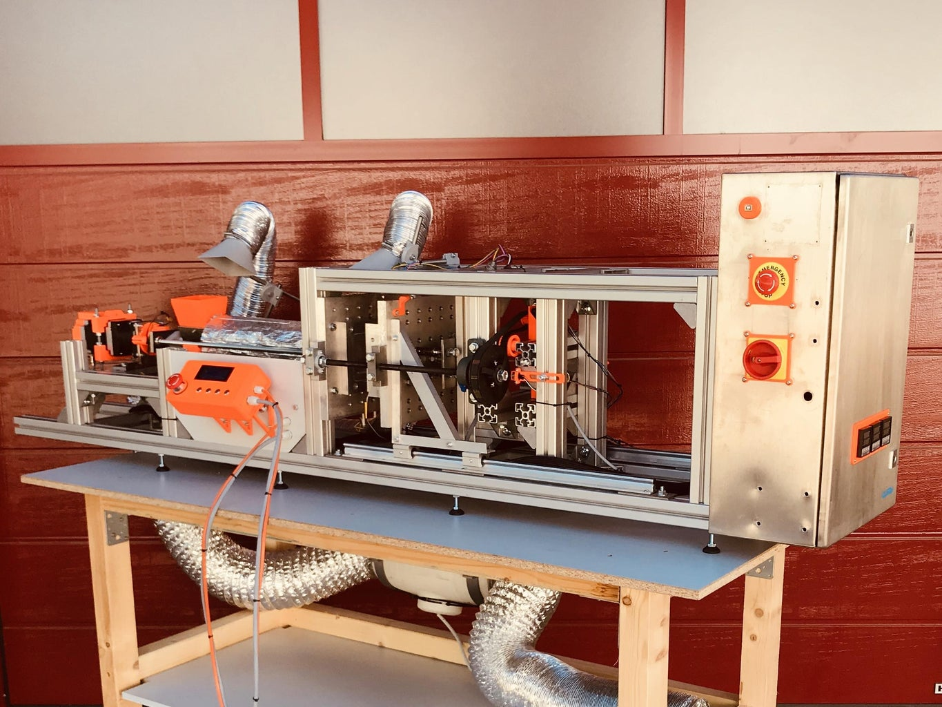Automated Injection Molding Machine for Plastic Recycling