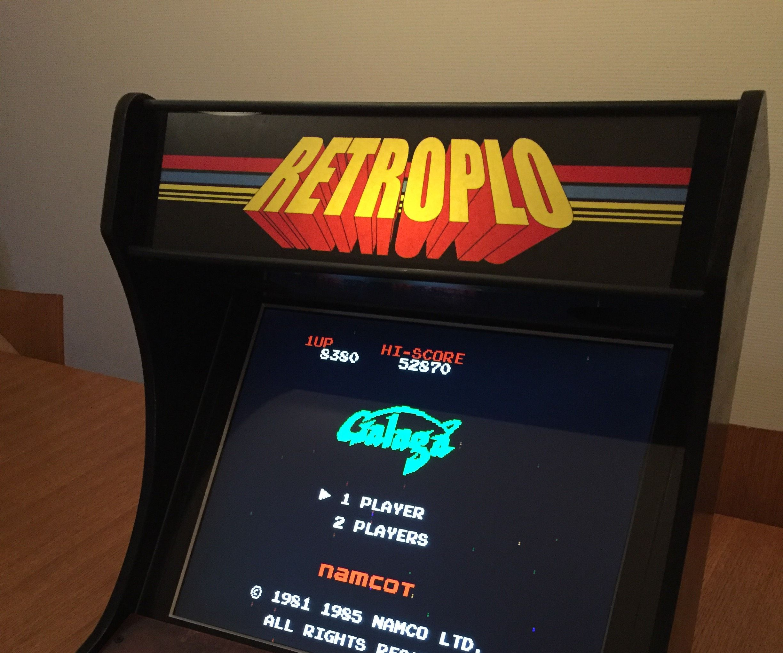 Bartop arcade machine (one player)