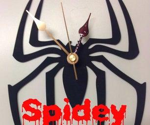 Spidey Clock