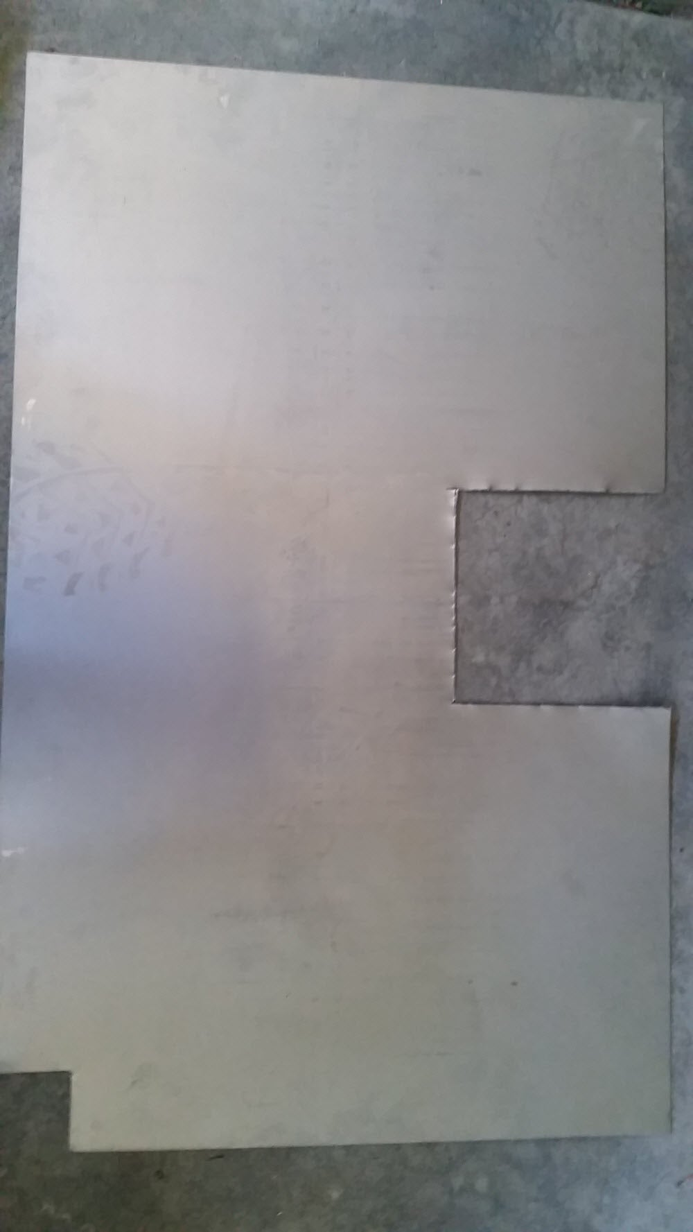 Make Inserts for Control Holes