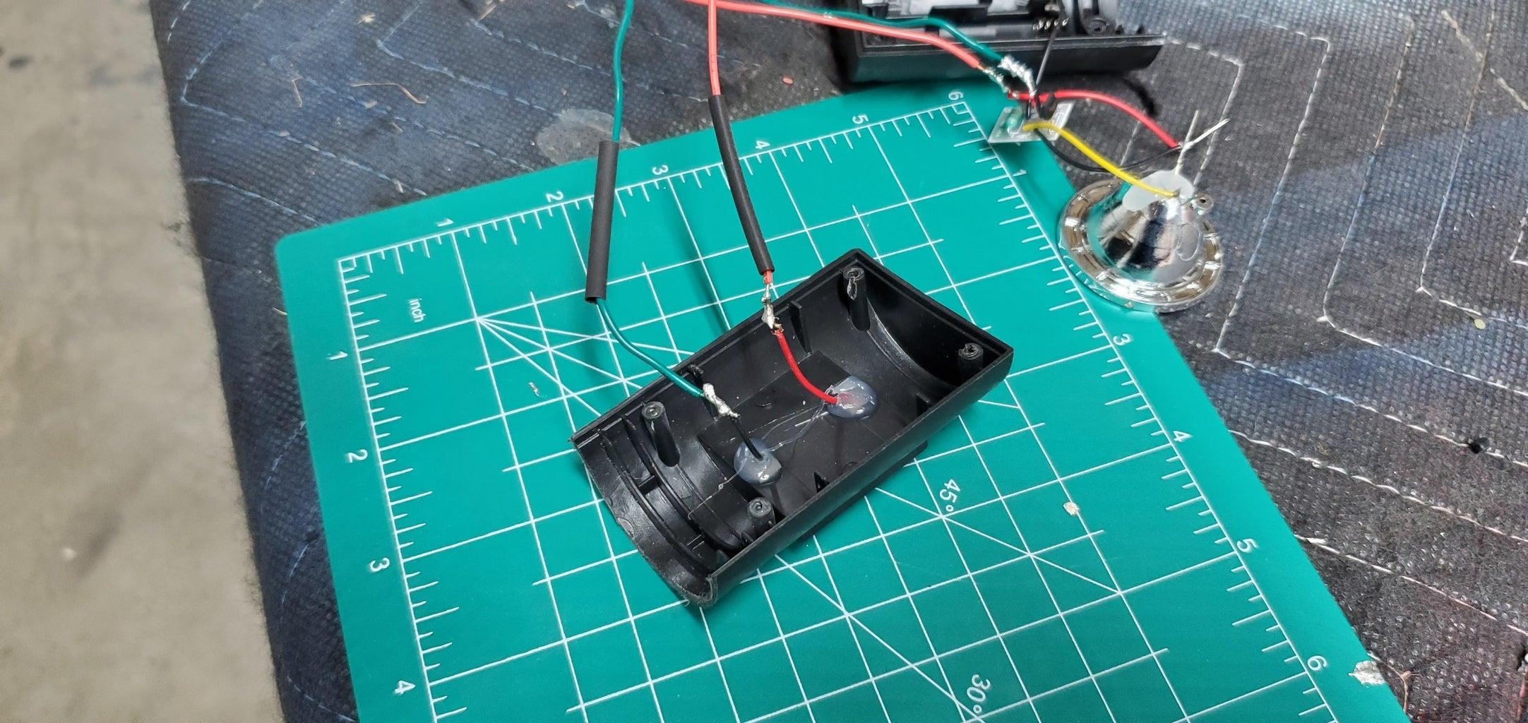 Solar Light Wiring