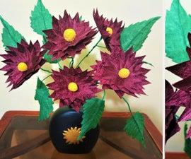 How to Make Dehlia Fabric Flower