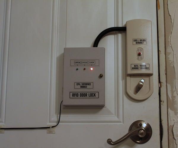 RFID DOOR LOCK - ARDUINO
