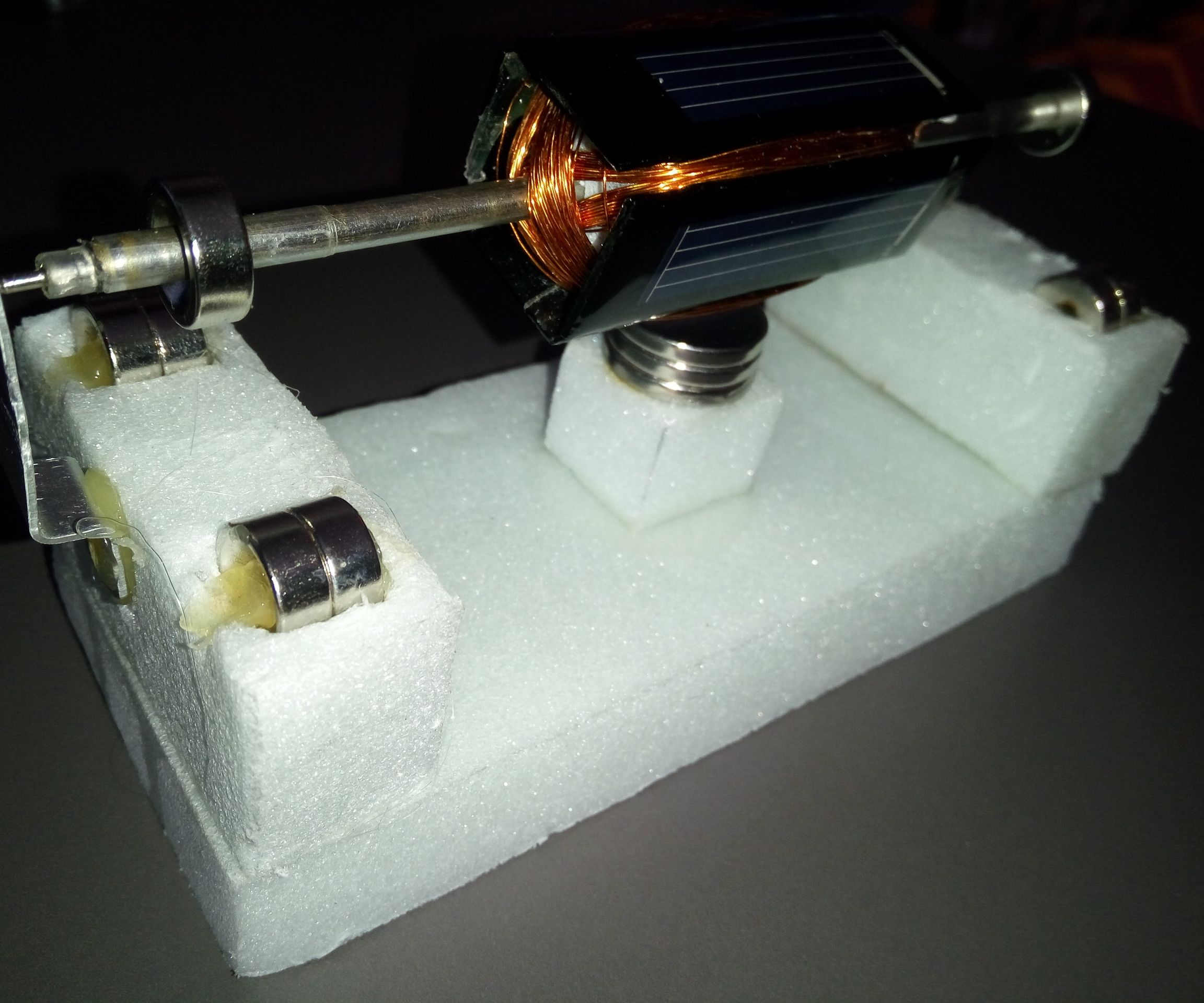 The Simplest Mendocino Motor  Which Is Made of Expanded Polystyrene