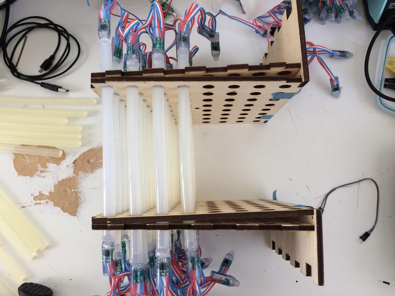 LED and Gluestick Mounting