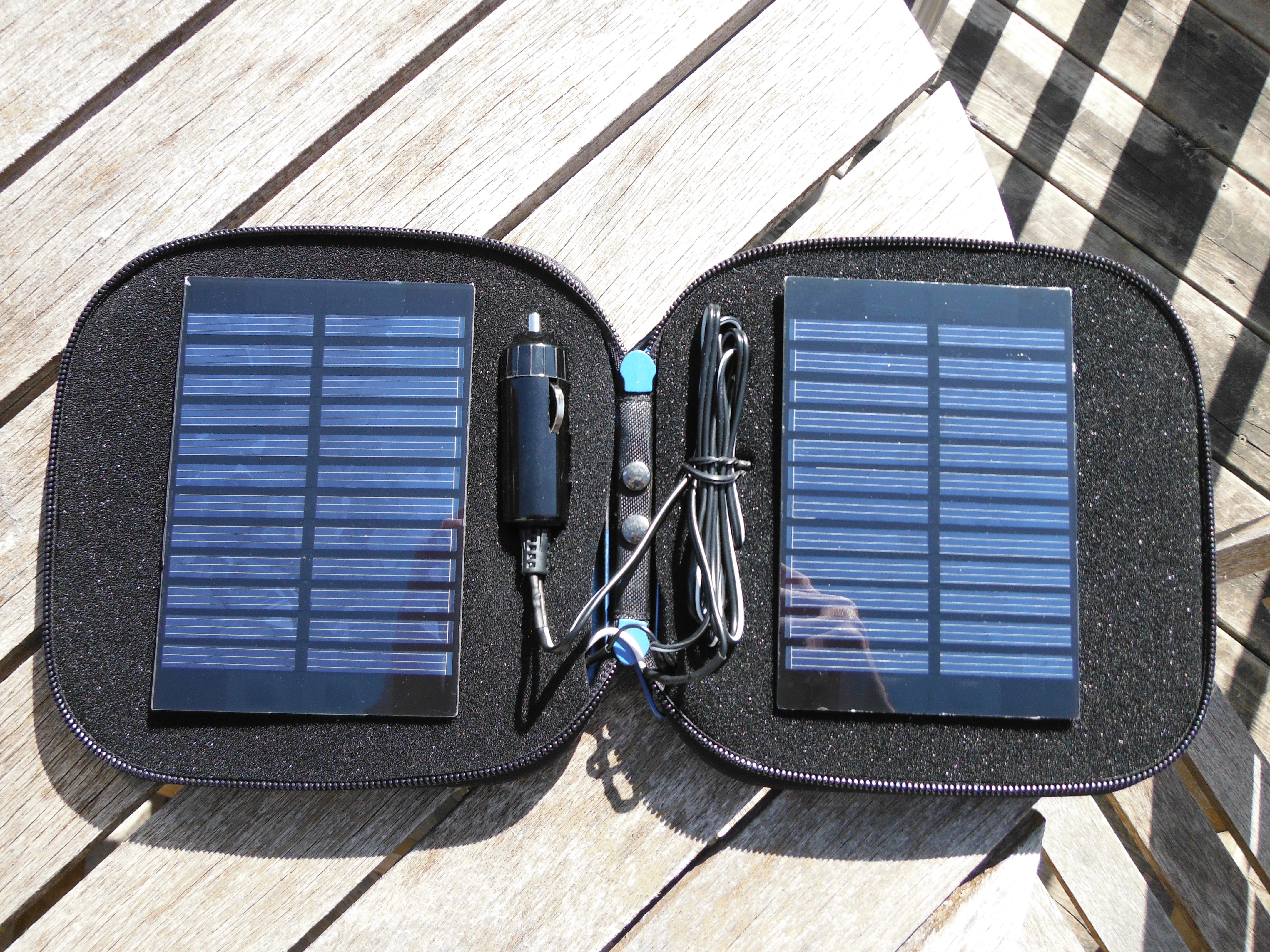 CD Book Solar Charger