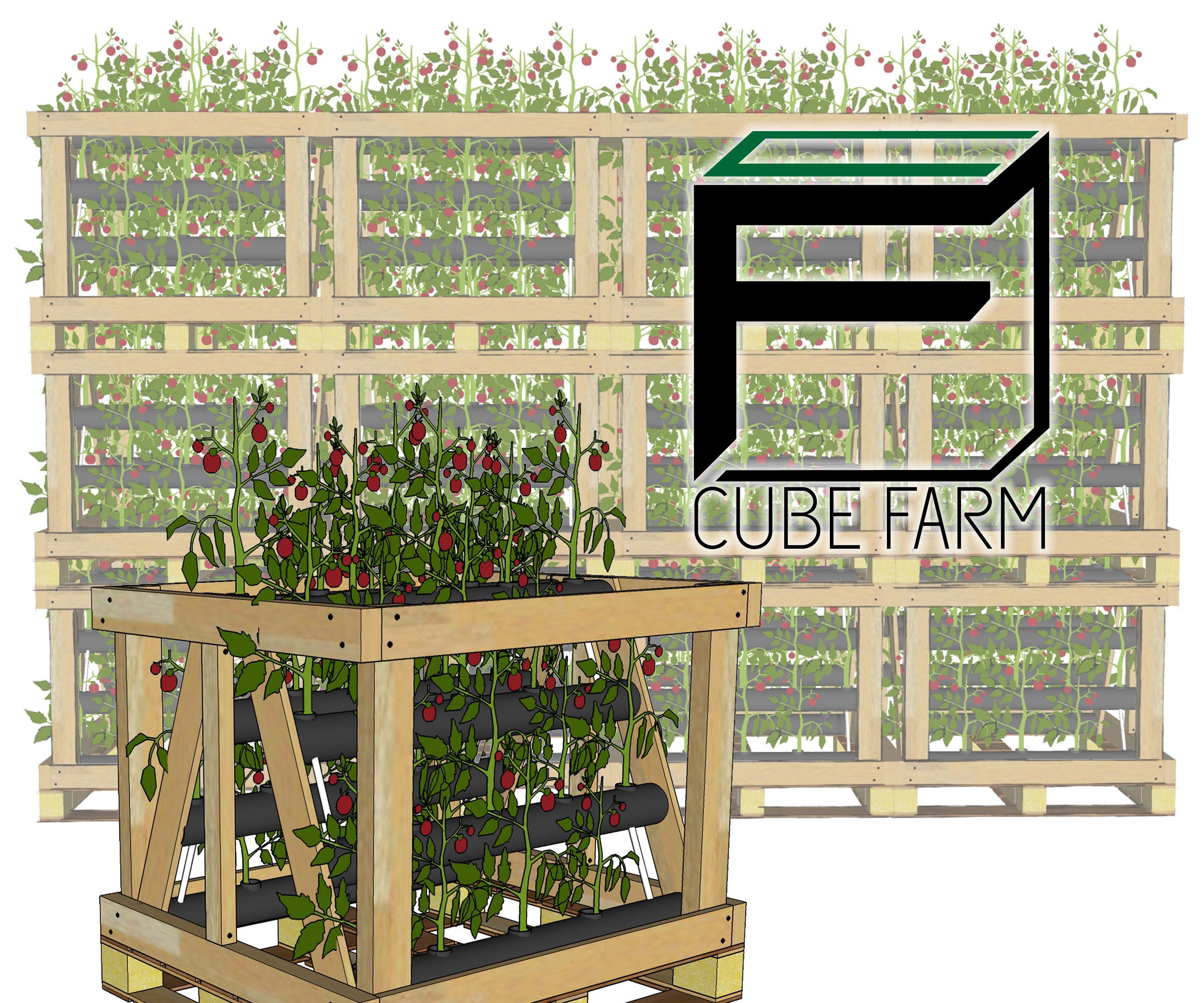 Cube Farm : a Modular, Open Source, Agriculture Platform