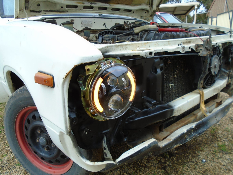 Fitting the Headlights
