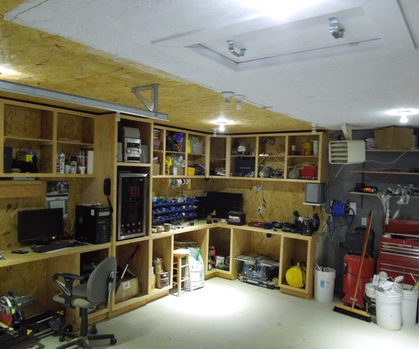 """""""Off Grid"""" DC Solar Electric Garage Lighting... Hard Wired and Fully Integrated"""