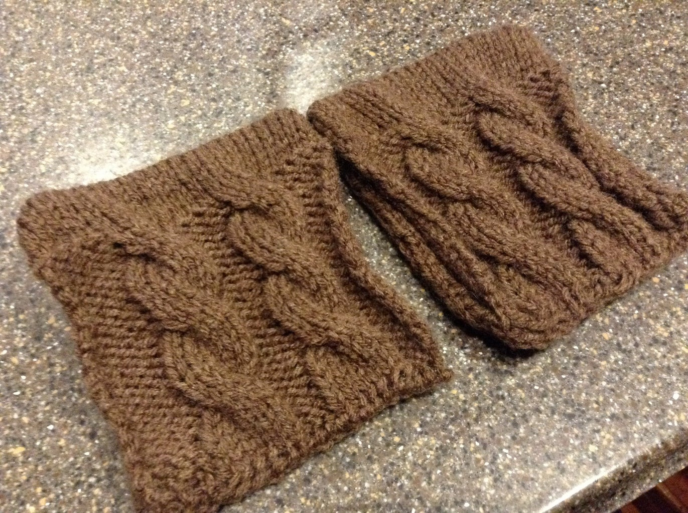 Knit Boot Toppers