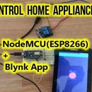 Control Home Appliances Using NodeMCU(ESP8266) and Blynk App