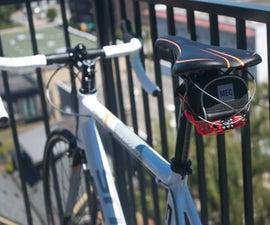 DIY GPS Tracked Bike Lock