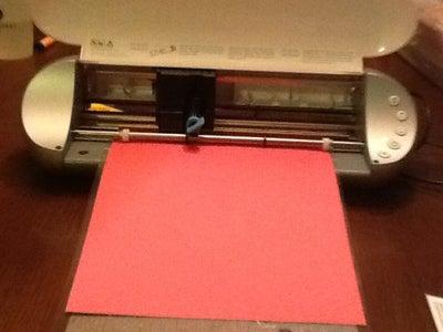 Prepare Paper and Load Into Silhouette Portrait
