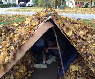 Building a Leaf House