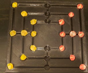 How to 3D Print a Mini Nine Men's Morris Game