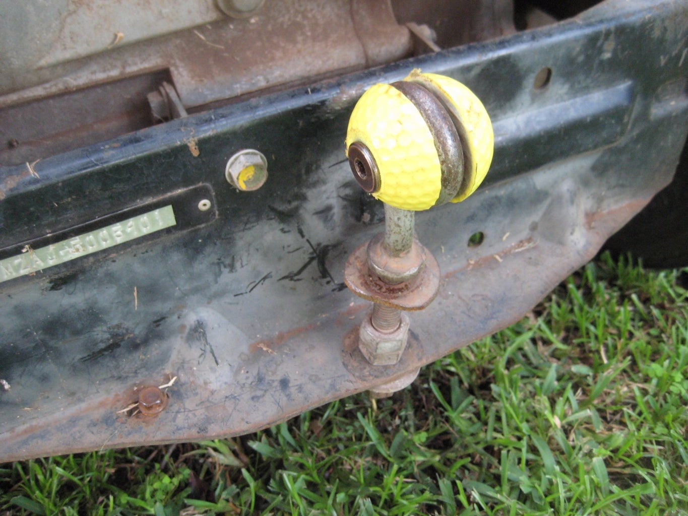 Attach Your New Ball Hitch