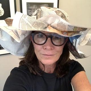 Sun Bonnet Paper Hat