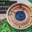 Solid Wood Turned Clock [Working!]