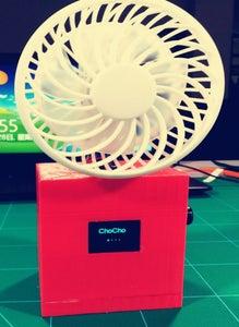 Make an Electric Fan With FireBeetle Board ESP32