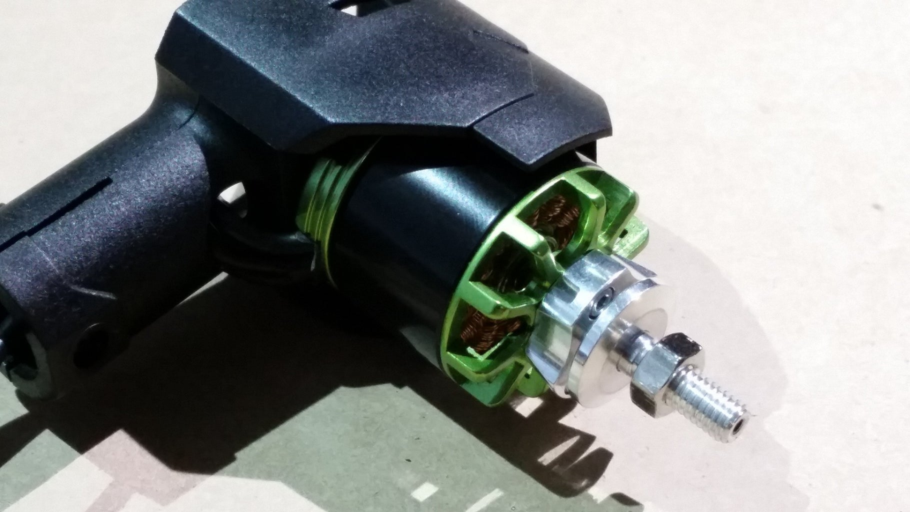 Attach the Motors to the Motor Mounts