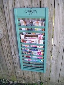Embellish Your Magazine Rack