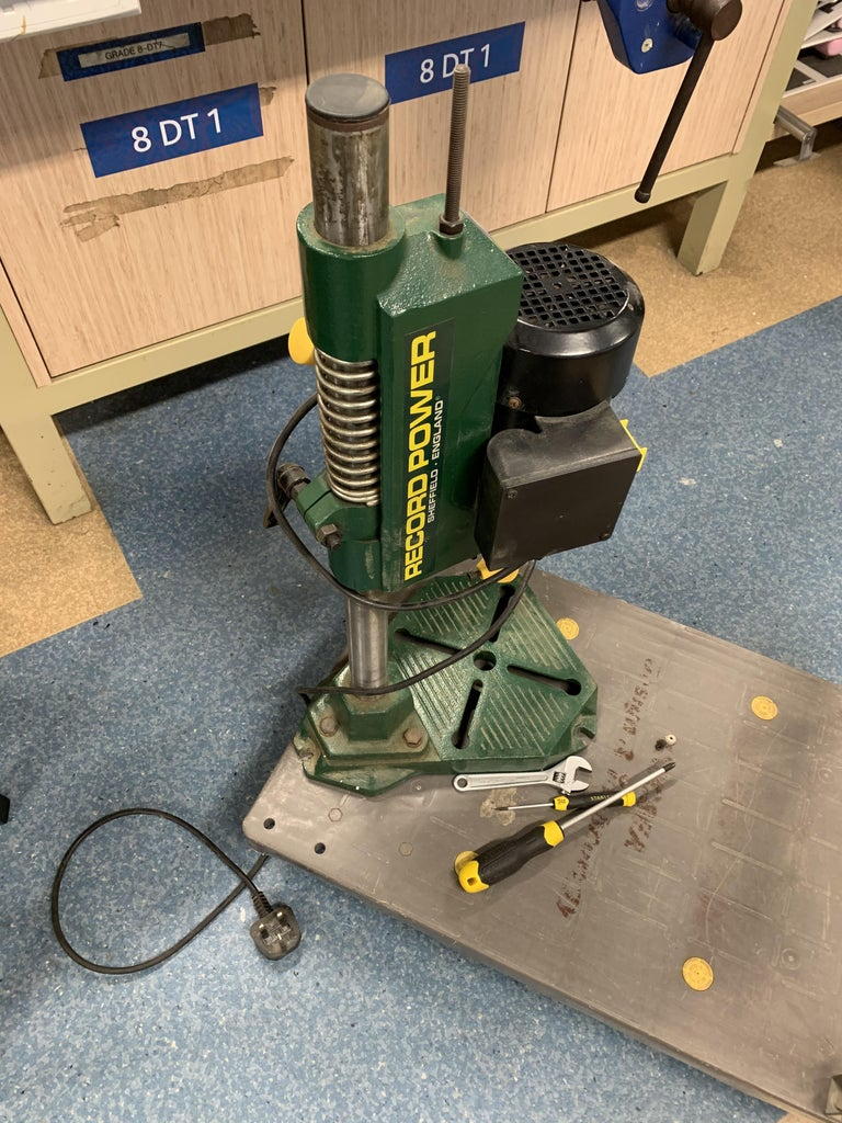 The Base: Modified Mortise Drill