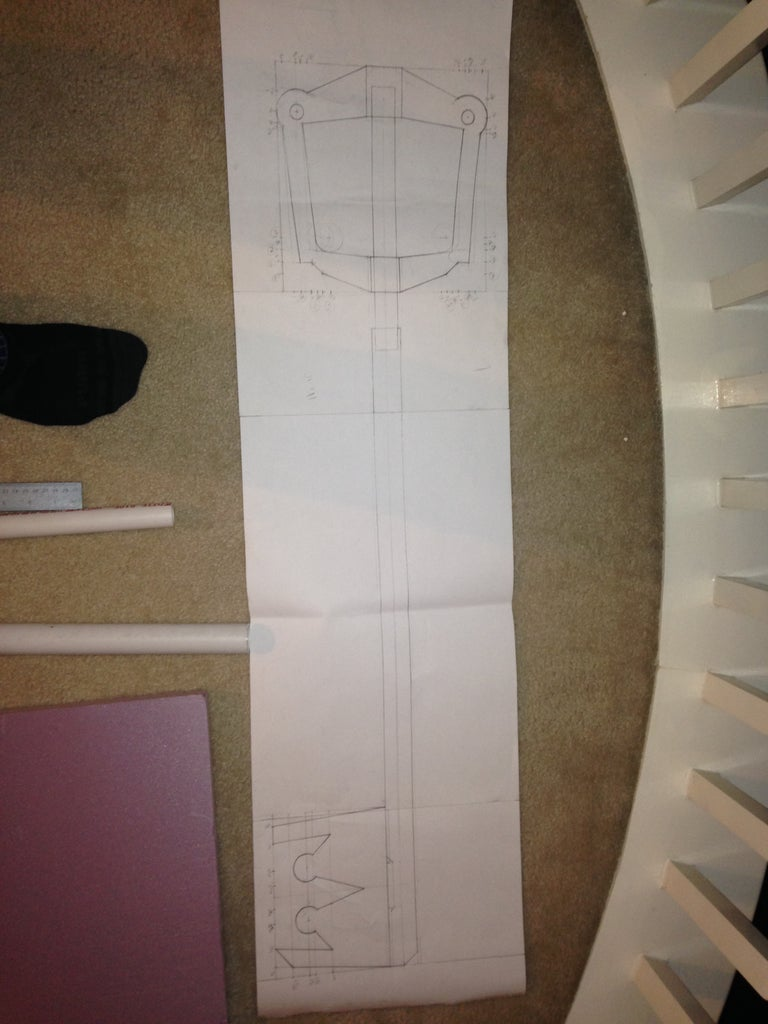 Making a Drawing of the Keyblade