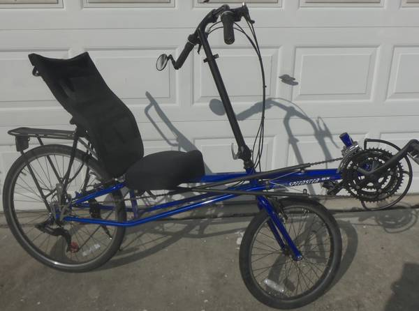 Add a Rear Rack to the Back of a Recumbent Sun Speedster