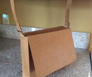 Upcyled Hemp or Grocery Bag Messenger Bag
