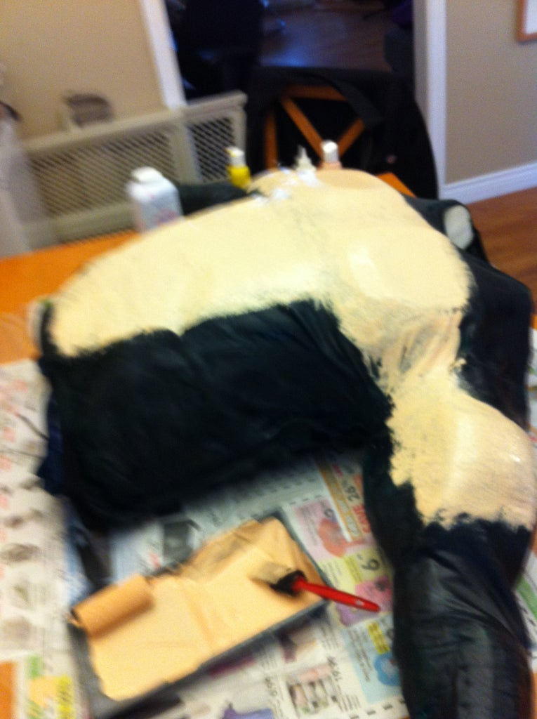 Painting the Muscle Suit for Killer Croc