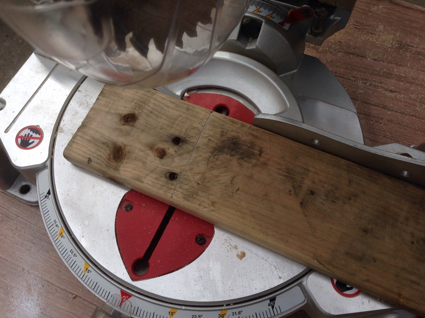 Cutting Your Pallet Boards
