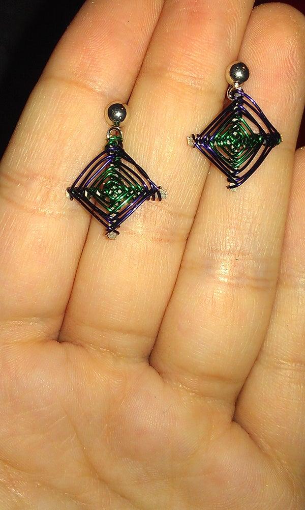 God's Eye Earrings