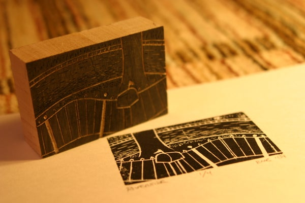 Creating, Cutting and Printing Your Own Woodblock