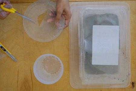 Step 3: Prepare Containers for Concrete