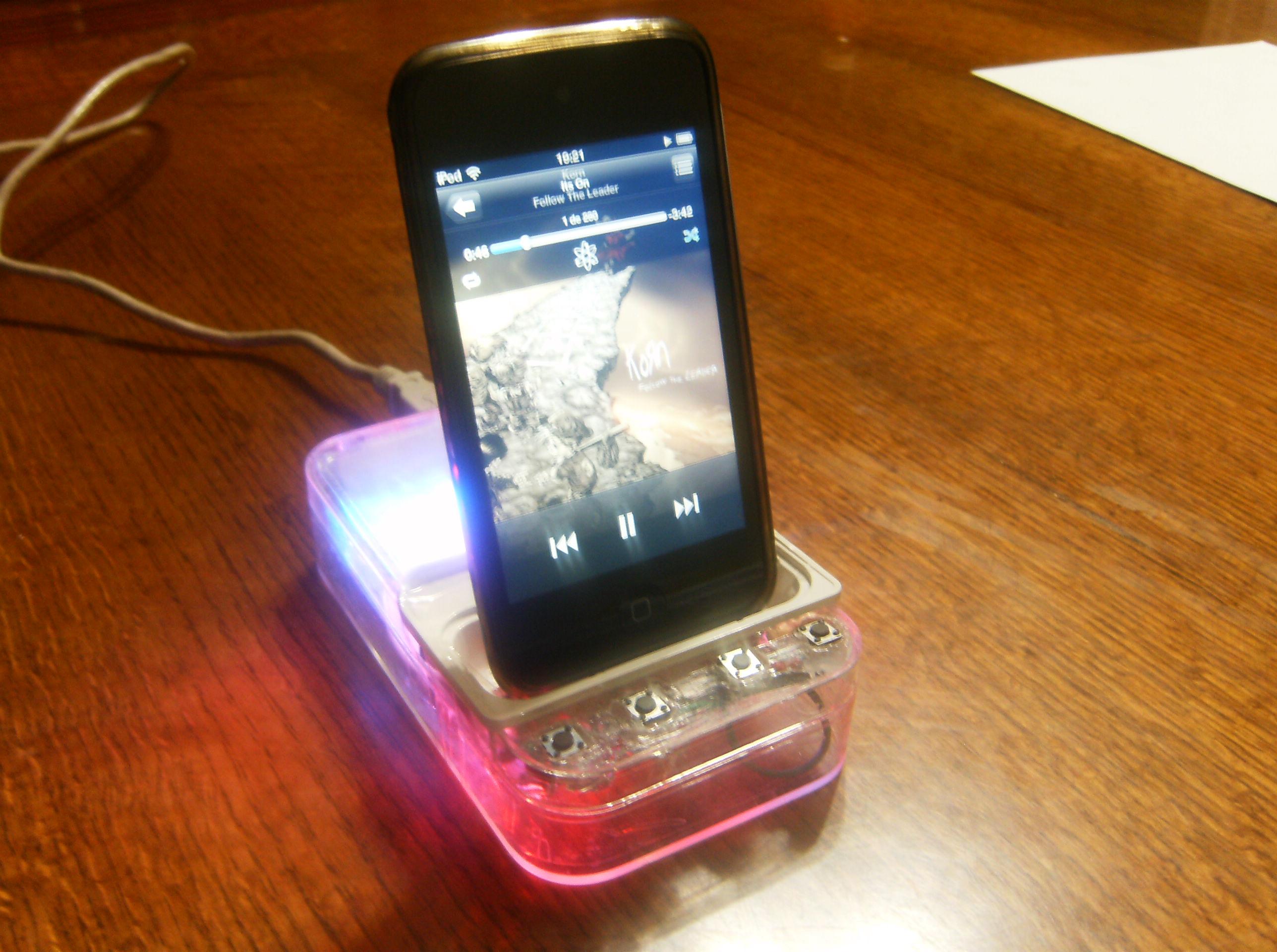 Arduino + iPod
