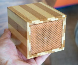Bamboo Bluetooth Speaker From Old Cutting Board