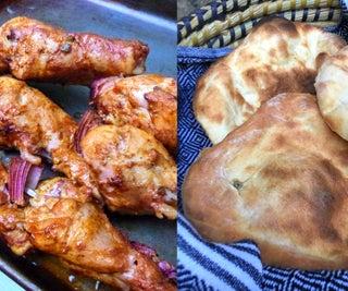 Tandoori Chicken&Naan在龙舌兰