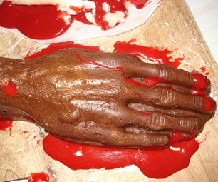 Bloody Fudge Hands
