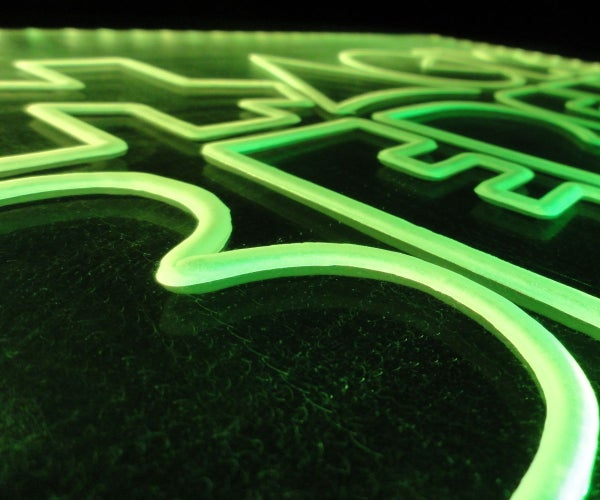 Yet Another Edge-Lit LED Sign