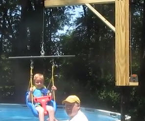 Above Ground Pool Lift