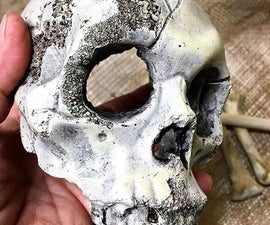 Super Real-look Concrete Skulls
