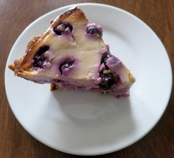 Blueberry Yogurt Pie
