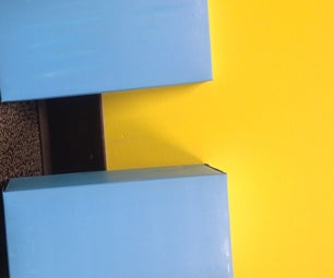 DIY Shoebox Ribbon Holder