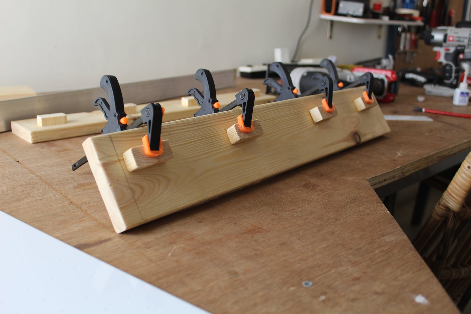 Gluing the Spacers