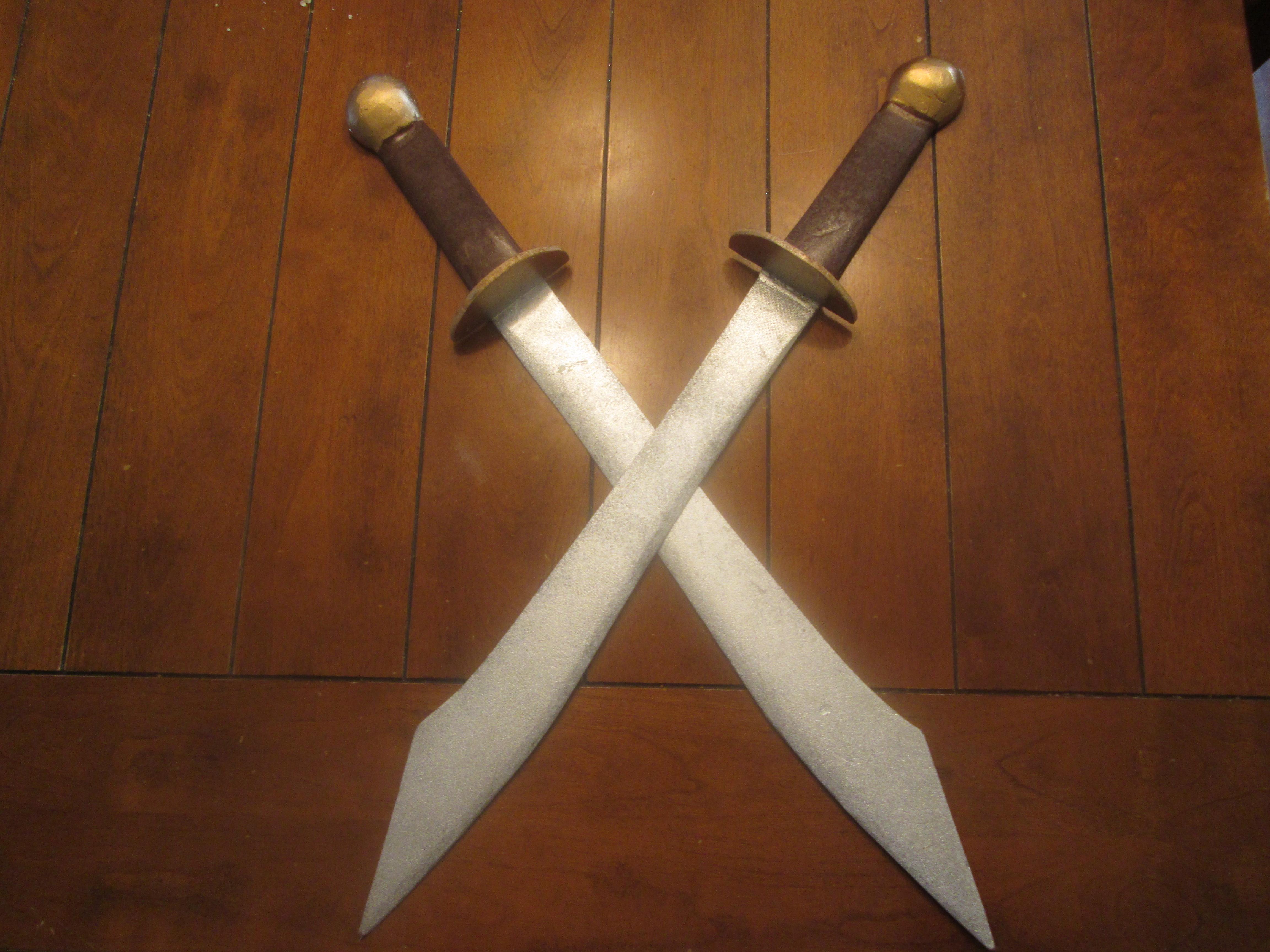 DIY: ZUKO'S DUAL DAO SWORDS