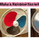 Make a Rainbow Fan From Duct Tape