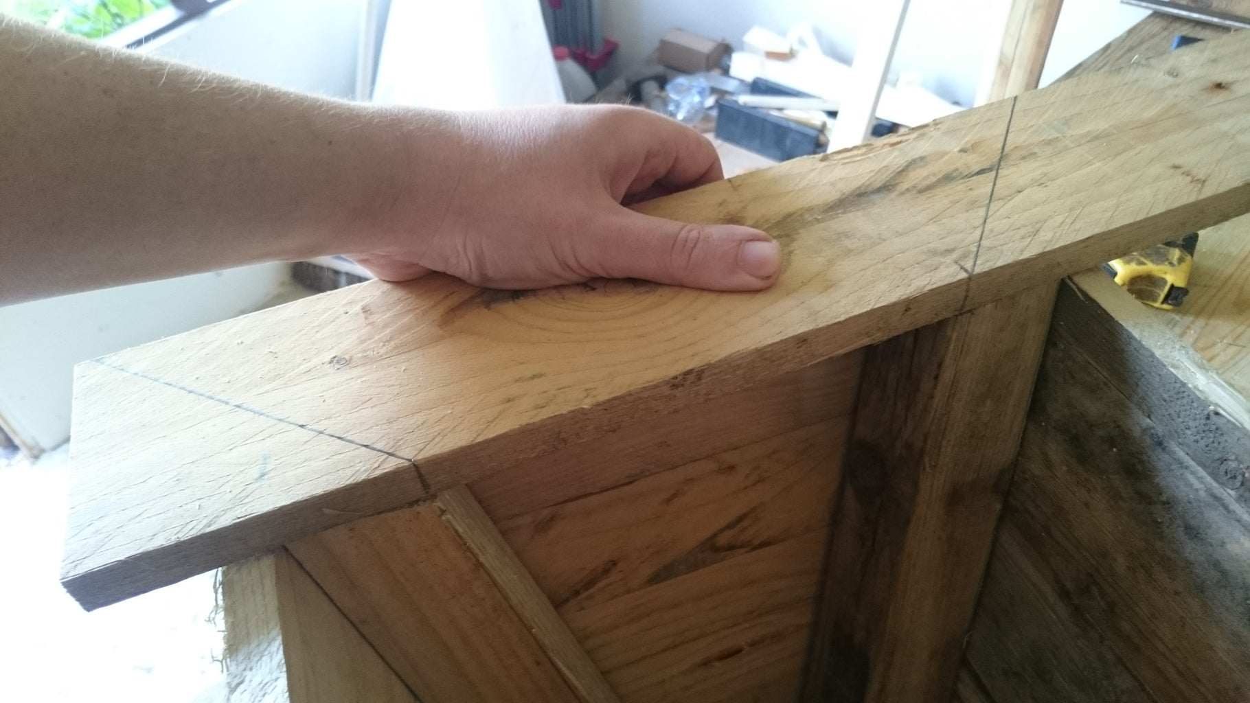 Cutting and Attaching the Top