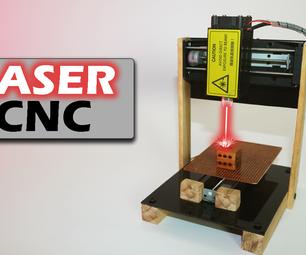 DIY Arduino Mini Laser Engraving Machine