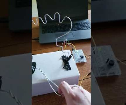 Buzz Wire Game With LED Timer for Arduino UNO